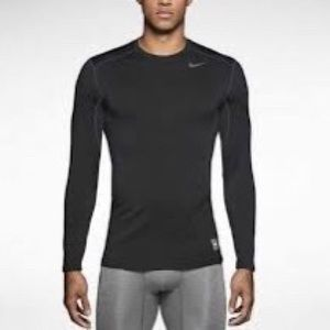 Nike Pro Combat Fitted Long Sleeve Dri Fit